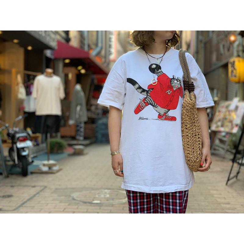 "~1990's ""Kliban Cat"" Short sleeve T-shirts"