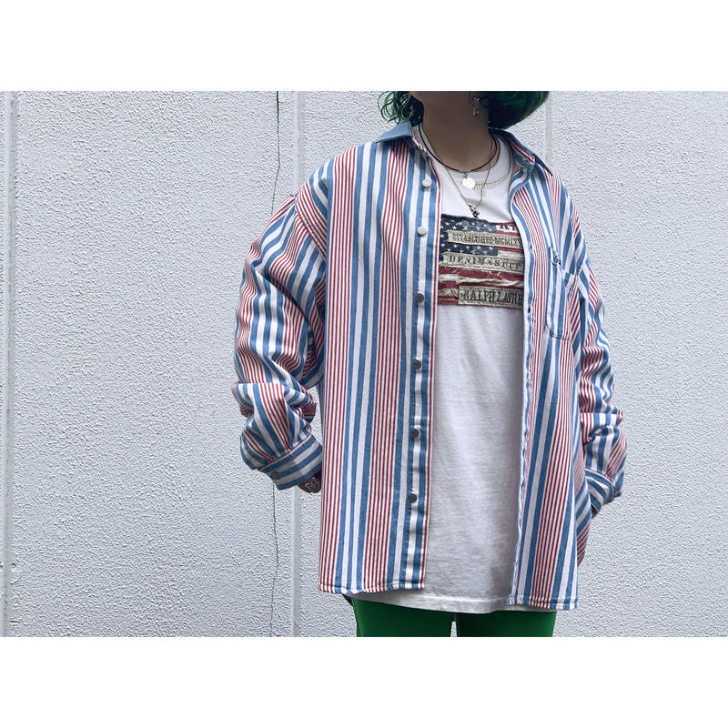 """1980's """"GUESS"""" by GEORGES MARCIANO  Long Sleeve Shirts"""
