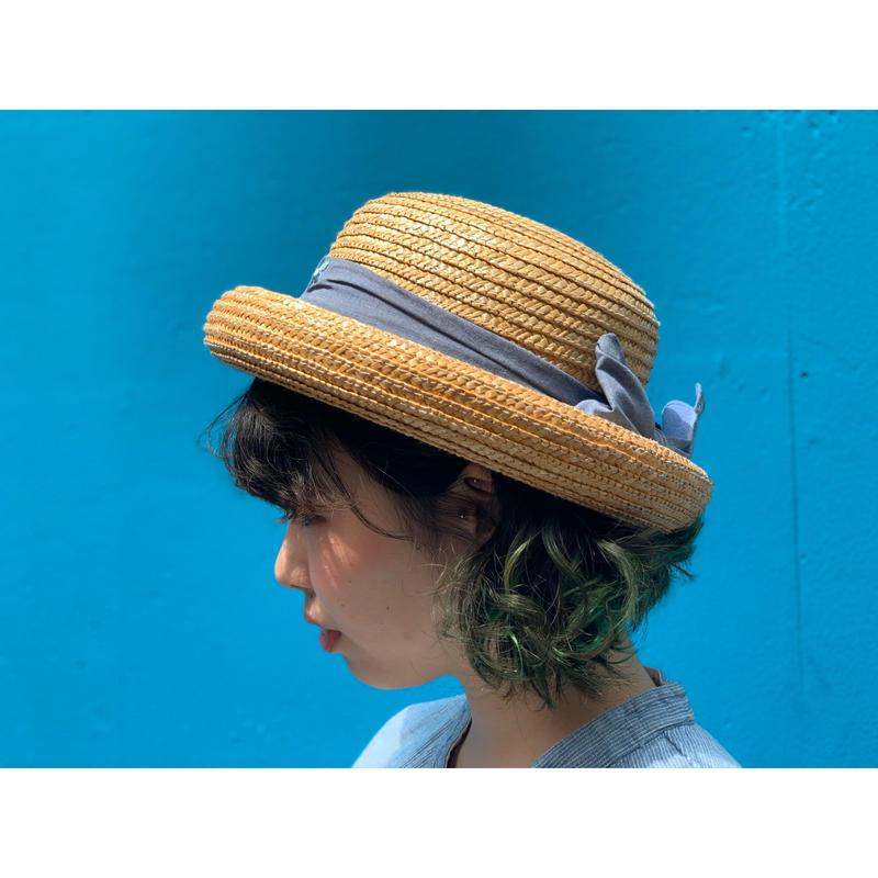 """Bowlerstraw Hat"""