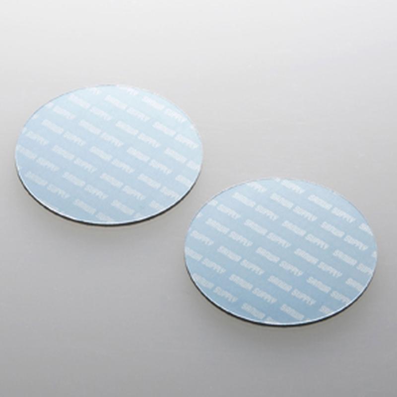 小さくて軽い機器に貼るだけで強力放熱できる冷却パッド(丸型×2)