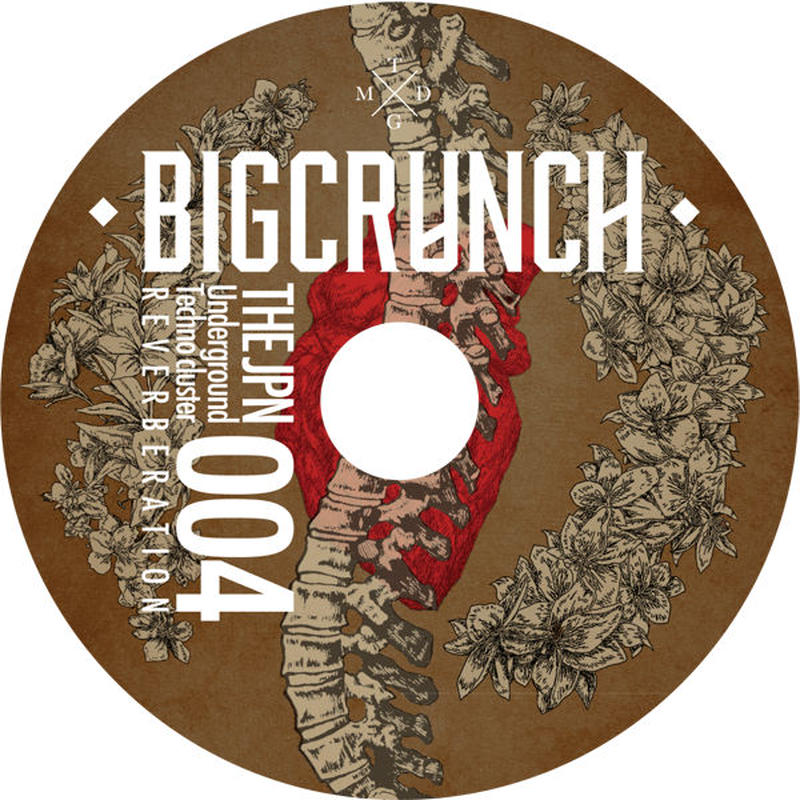 """4th ALBUM BIG CRUNCH 004 ■BONUS TRACK:TAKAAKI ITOH""""QUOTIENT""""+MASTER MASTER""""sound hoses"""""""