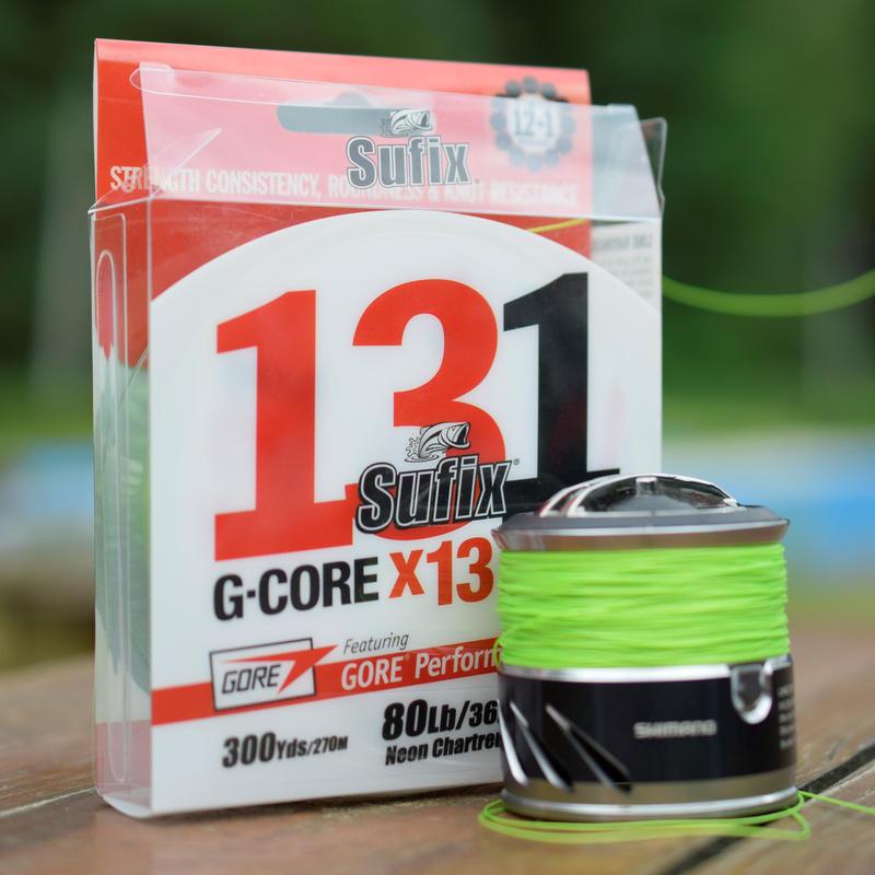 Sufix 131 G-CORE 13BRAID  300m巻き 13本編みPEライン