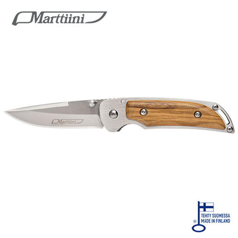 913111 Olive Folding knife MFK2O in box オリーブ フォールディング ナイフ