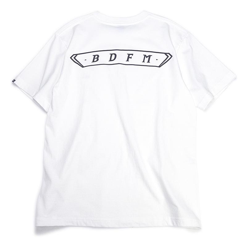 BDFM PROJECT 002 T-SHIRTS WHITE