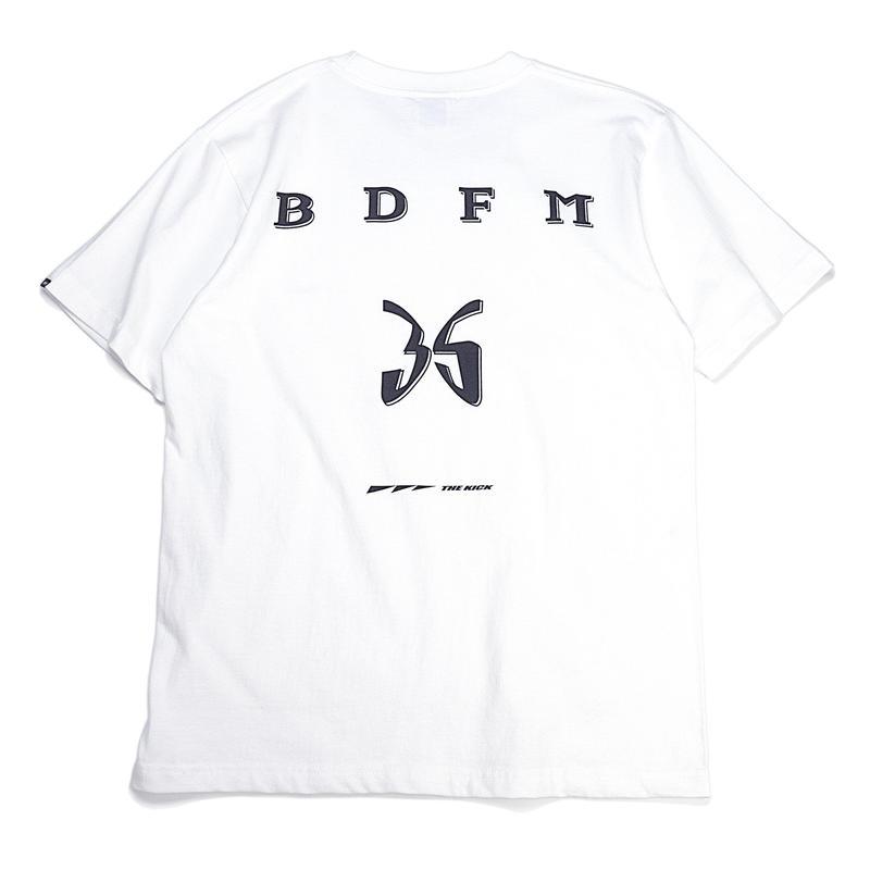 BDFM PROJECT 005 T-SHIRTS WHITE /BLACK