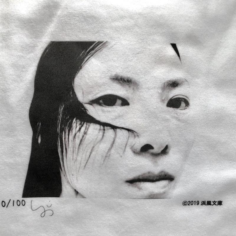 Yoichi Shidomoto Female Tシャツ 限定100枚 浜風文庫オリジナル
