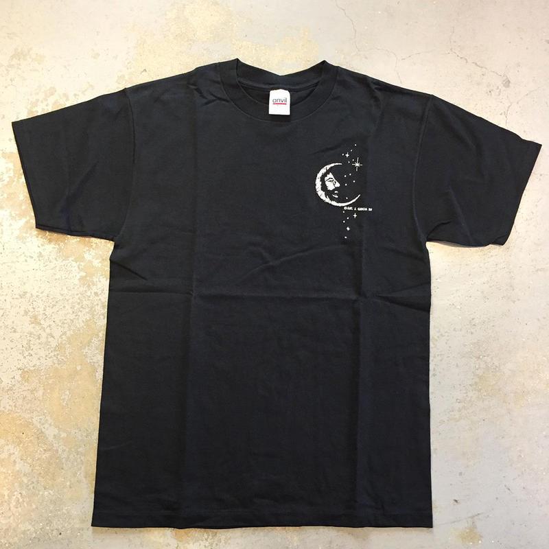 ジェリー ガルシア・ジェリー ムーン 1998 ヴィンテージ 刺繍 T-シャツ