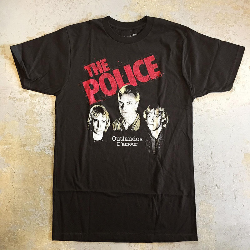 ポリス・アウトランドス・ダムール 1978 T-シャツ ブラック