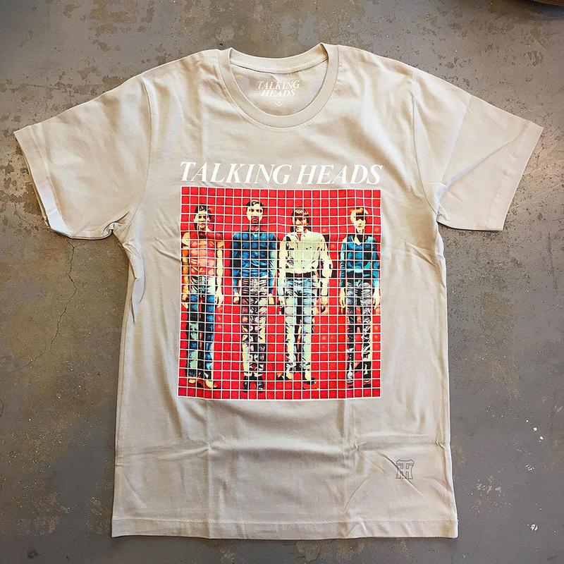 トーキング ヘッズ・モア ソングス アバウト ビルディングス&フード 1978 T-シャツ ライトグレー