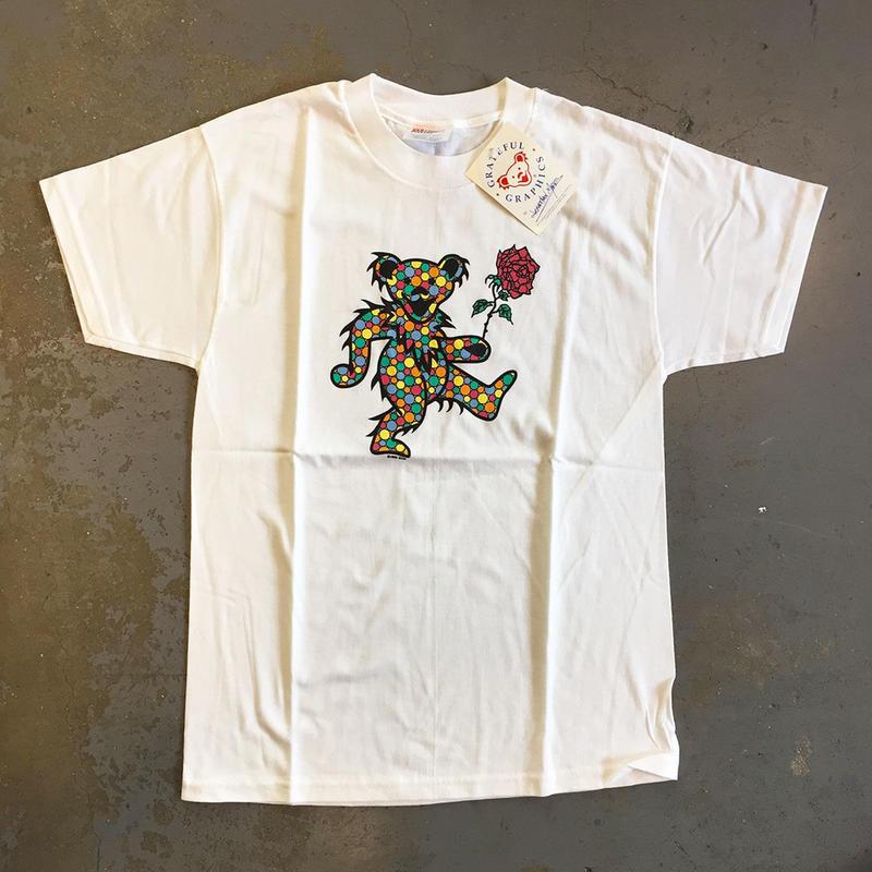 グレイトフル デッド・ポルカ ドット ベアー ヴィンテージ キッズ T-シャツ