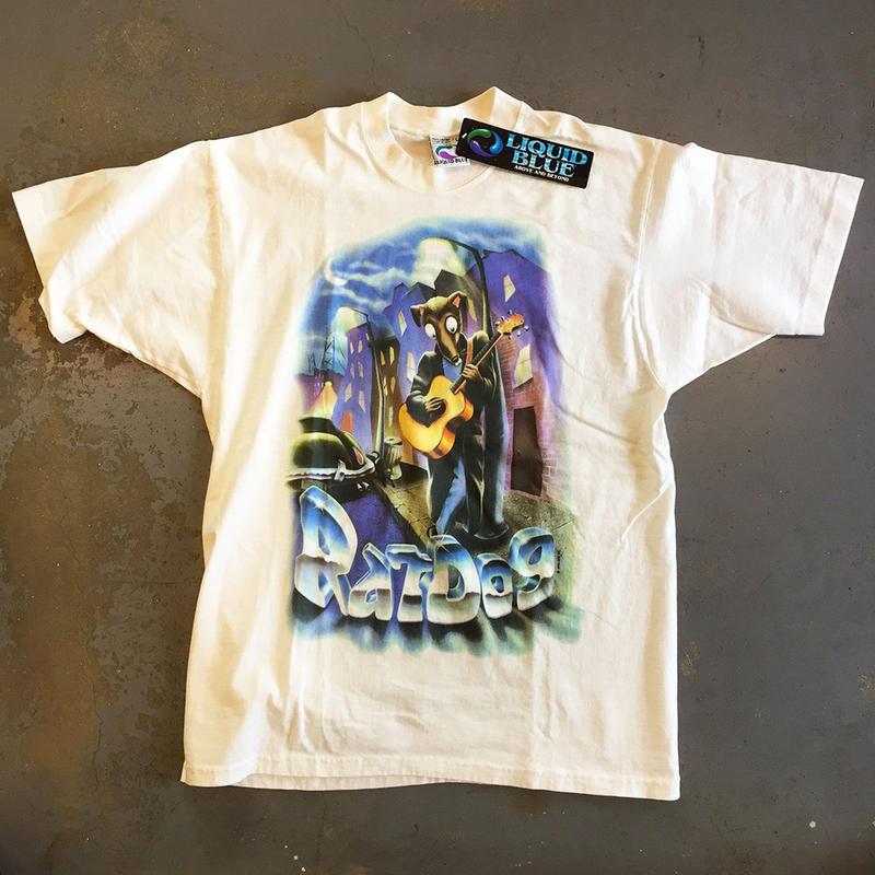 ボブ ウィアー & ラットドッグ・ファーザー フェスティヴァル 1996 サマーツアー T-シャツ