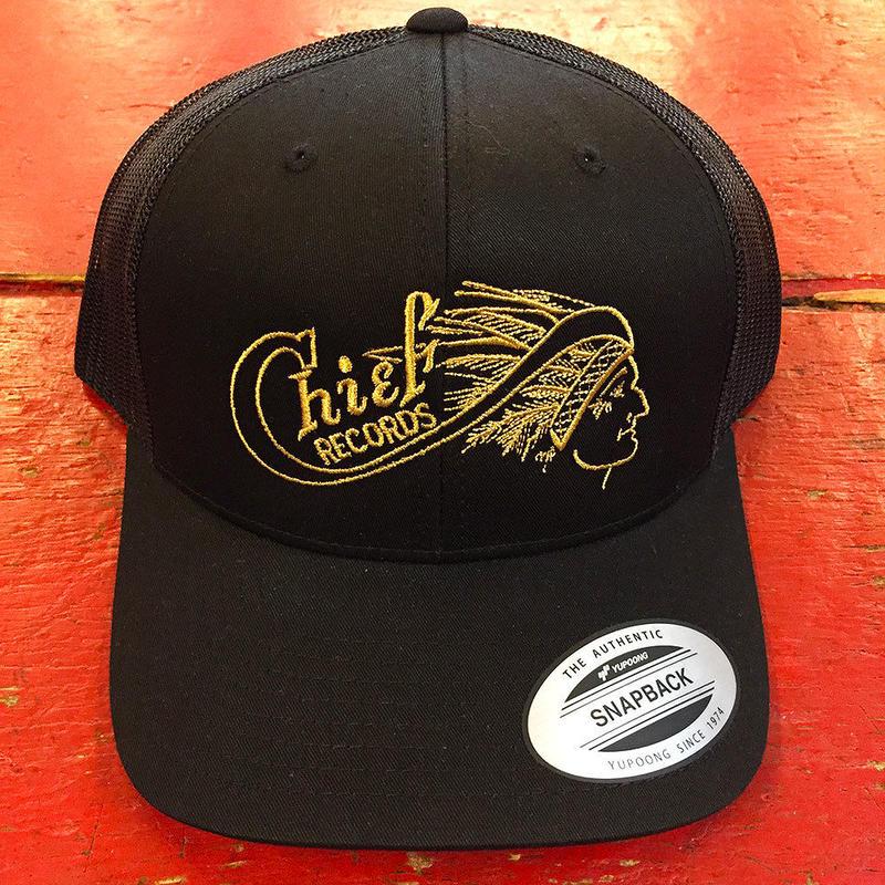 チーフ レコード クラシック ブラック トラッカー ハット