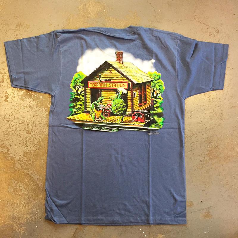 グレイトフル デッド・テラピン ステーション ヴィンテージ T-シャツ