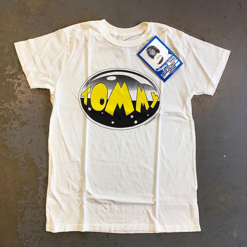ザ・フー (ロジャー ダルトリー)・ロック オペラ・トミー 1975 女性用 T-シャツ