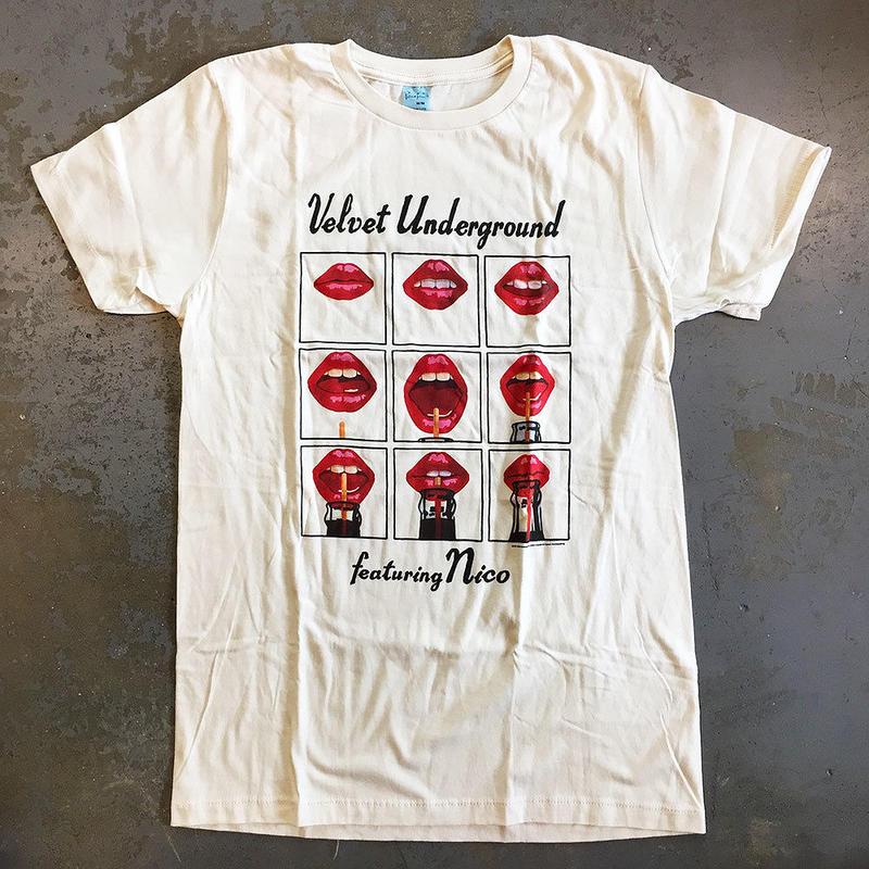 ザ ヴェルヴェット アンダーグラウンド・ウォーホルズ ヴェルヴェッツ フィーチャリング ニコ 1971 Tシャツ