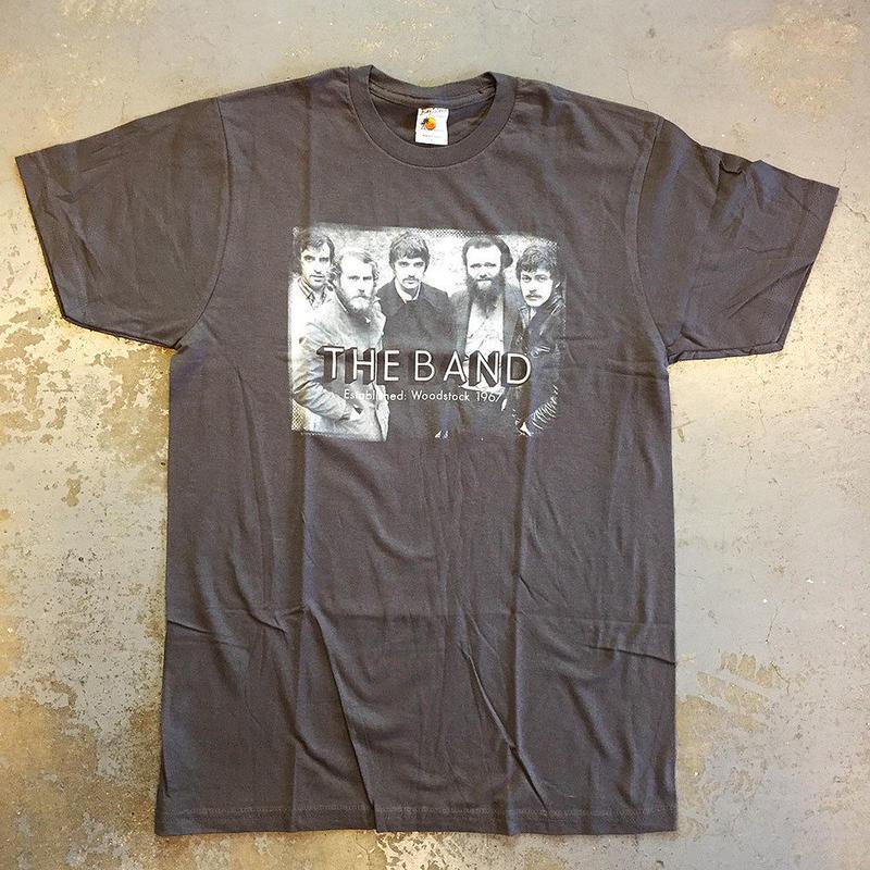 ザ バンド・ウッドストック 1969 T-シャツ オン ヴィンテージ グレー