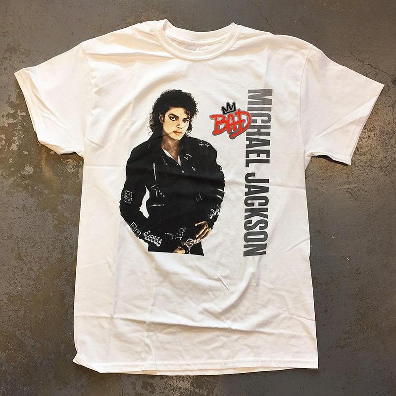 マイケル ジャクソン・バッド 1987 T-シャツ