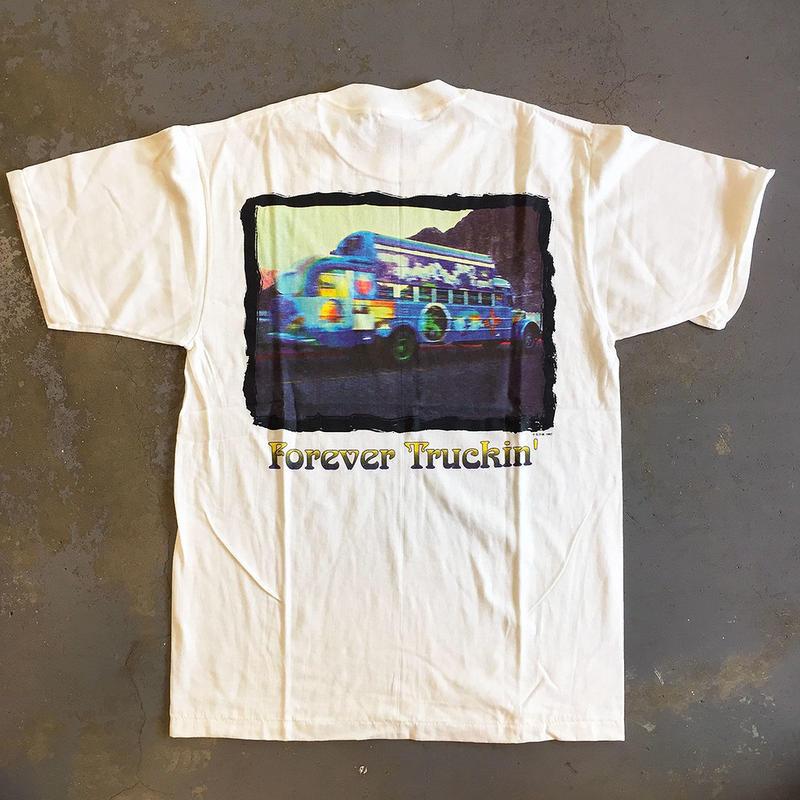 グレイトフル デッド・フォーエバー トラッキン・フォーエバー デッド 1965-1995 ヴィンテージ T-シャツ