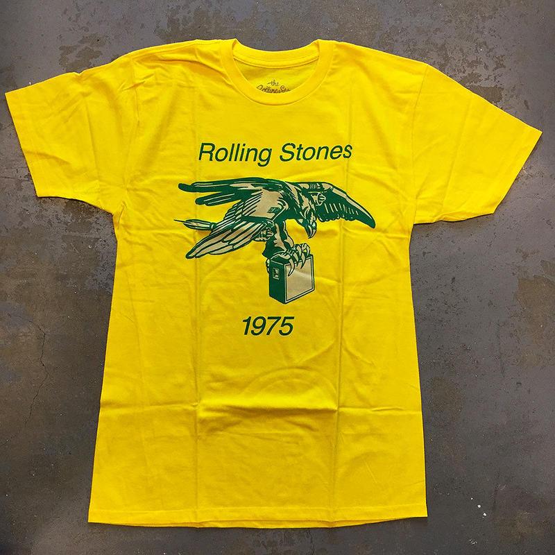 ザ ローリング ストーンズ・ツアー オブ アメリカ 1975 T-シャツ