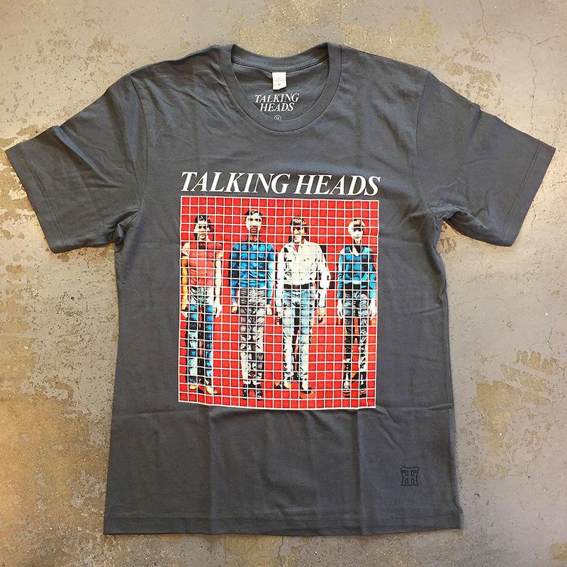 トーキング ヘッズ・モア ソングス アバウト ビルディングス&フード 1978 T-シャツ ヴィンテージグレー