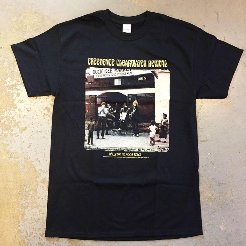 クリーデンス クリアウォーター リバイバル・ウィリー & ザ プア ボーイズ 1969 T-シャツ