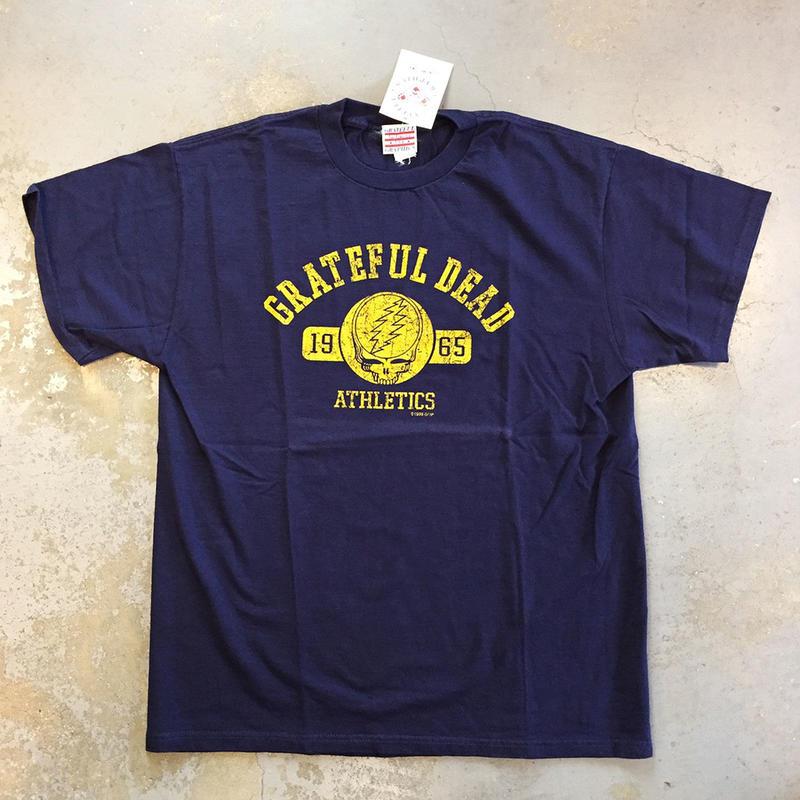 グレイトフル デッド・グレイトフル デッド アスレチック 1965 ヴィンテージ T-シャツ
