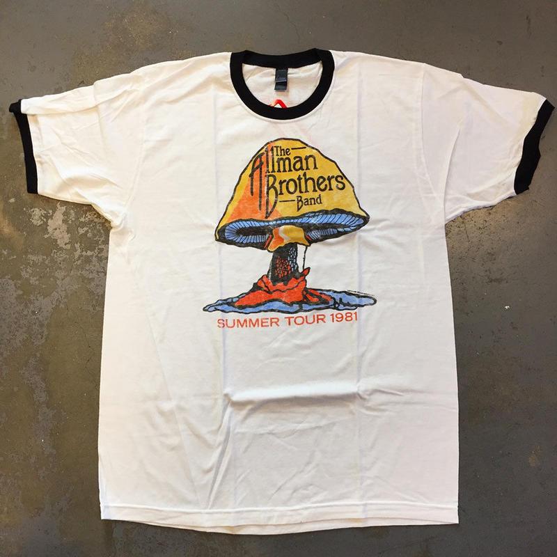 オールマン ブラザーズ バンド・サマー ツアー 1981 (オン ザ ロード 80's) T-シャツ