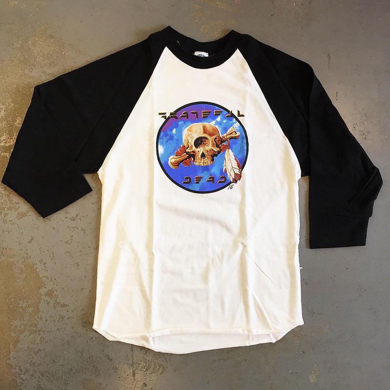 グレイトフル デッド・テラピン サイクロップス 1977 ベースボール T-シャツ