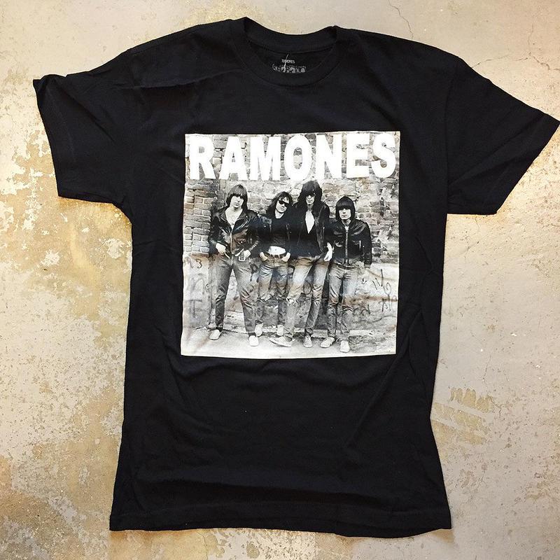 ラモーンズ・ラモーンズの激情 アルバムカヴァー 1976 Tシャツ