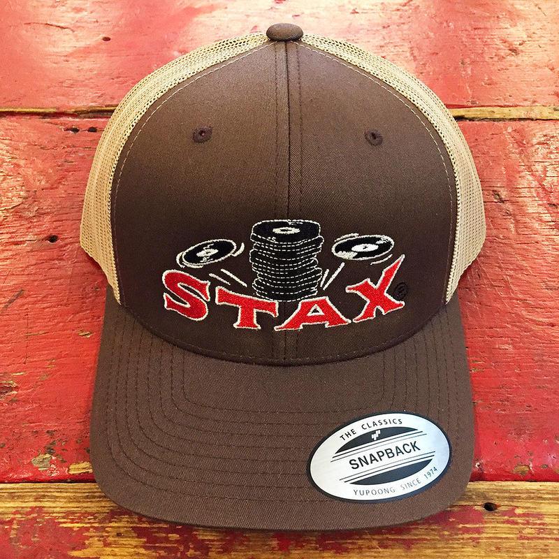 スタックス レコード・スタック オー ワックス・クラシック ブラウン トラッカー ハット