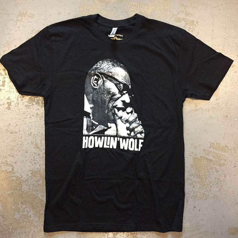 ハウリン ウルフ・スモークスタック ライトニン ヴィンテージ スタイル Tシャツ
