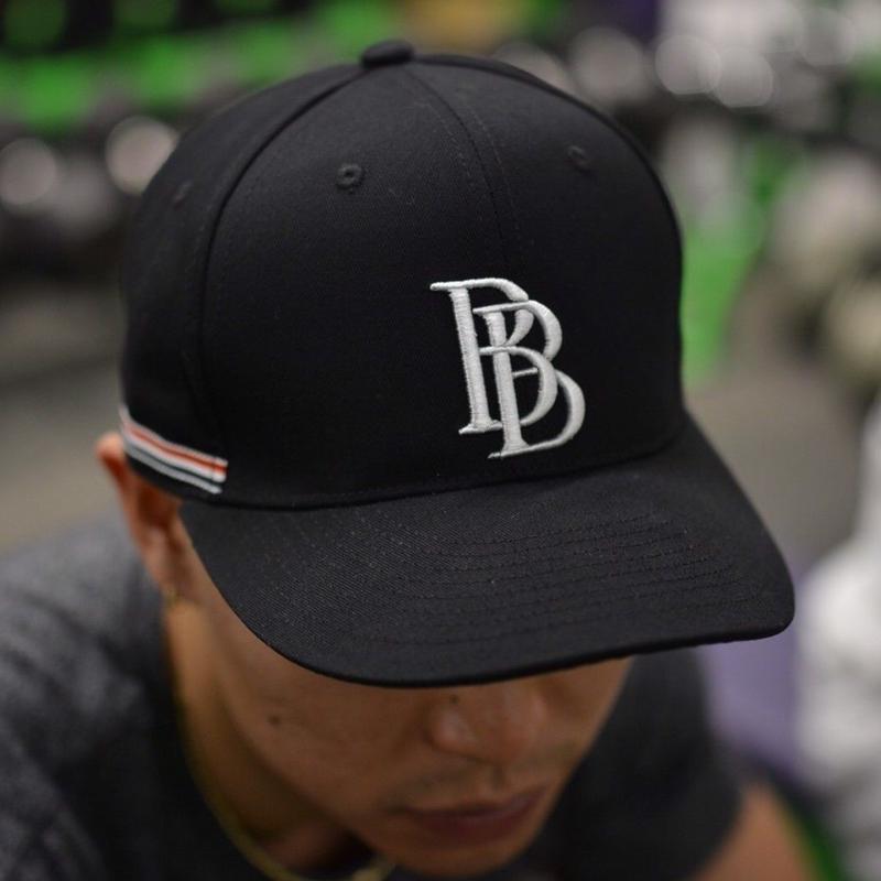 BB  CAP   カラー:ブラック×ホワイト  品番:6001