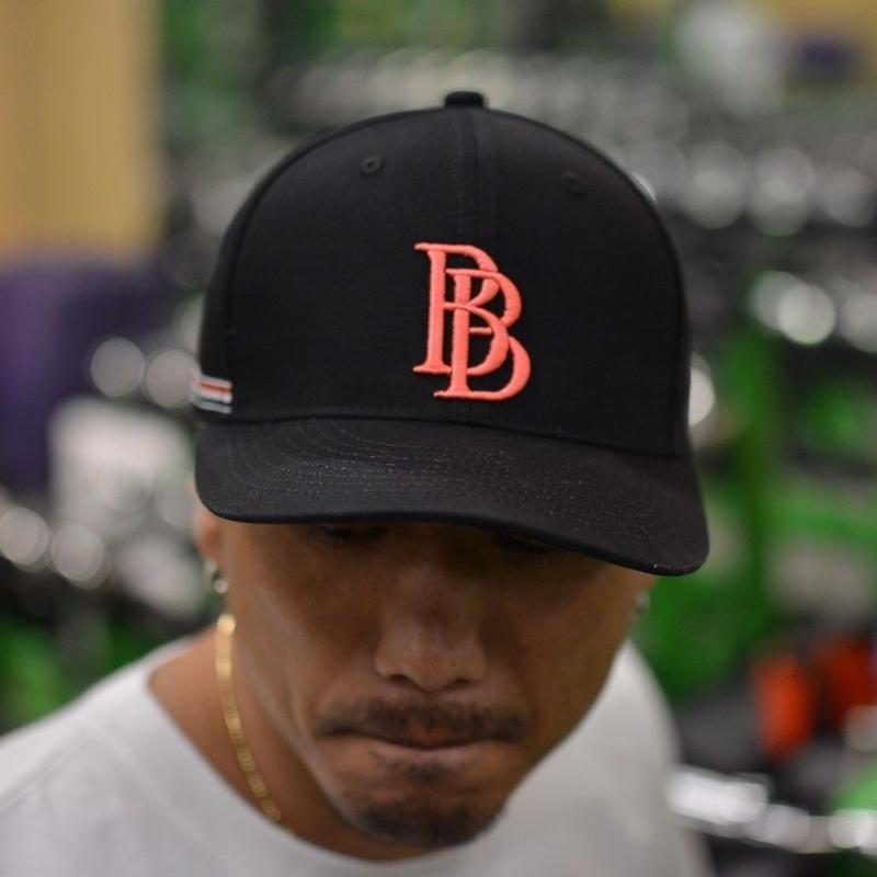BB  CAP   カラー:ブラック×ピンク  品番:6001