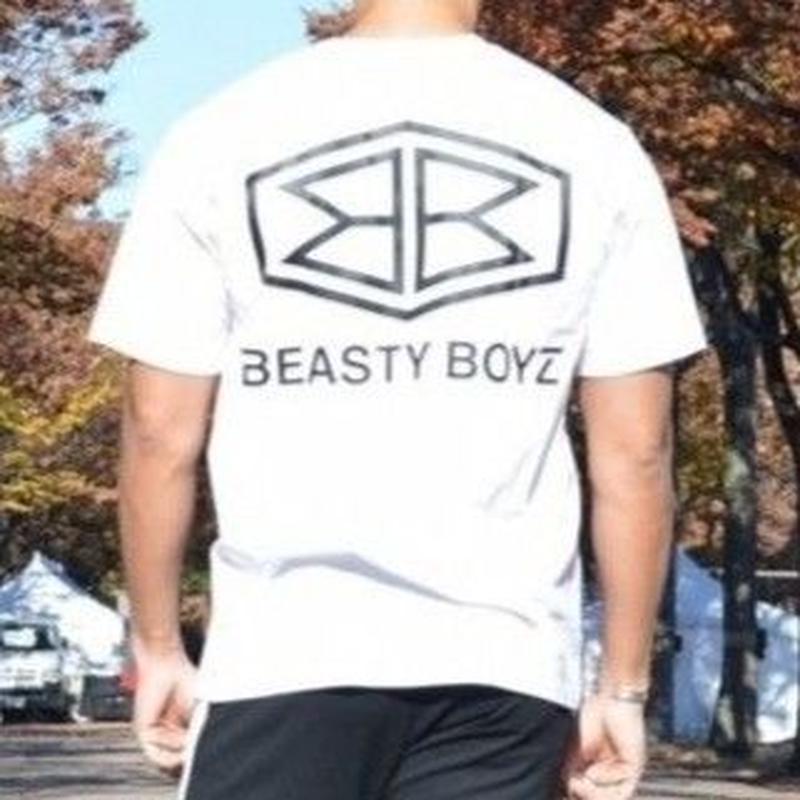 ヘキサゴンTシャツ   カラー:ホワイト  品番:5004