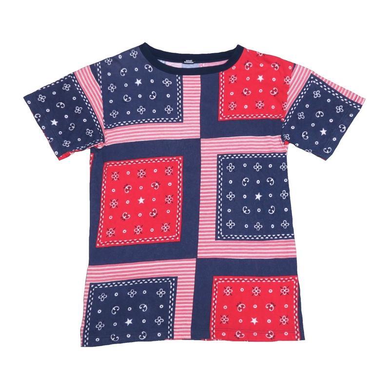 Bohemians(ボヘミアンズ) バンダナ柄Tシャツ