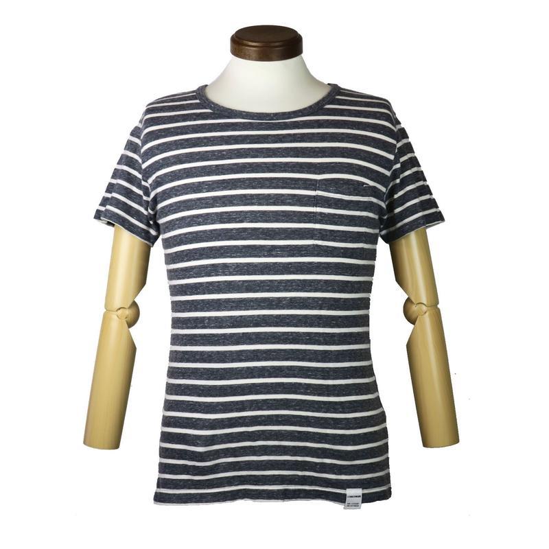 COMMONWARE/AMERICAN RAG CIE(コモンウェア/アメリカンラグシー)ボーダーポケットTシャツ