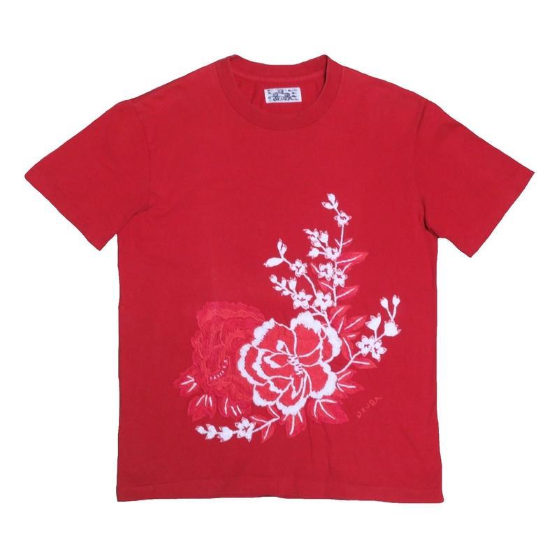 OKURA(オクラ) 刺繍Tシャツ