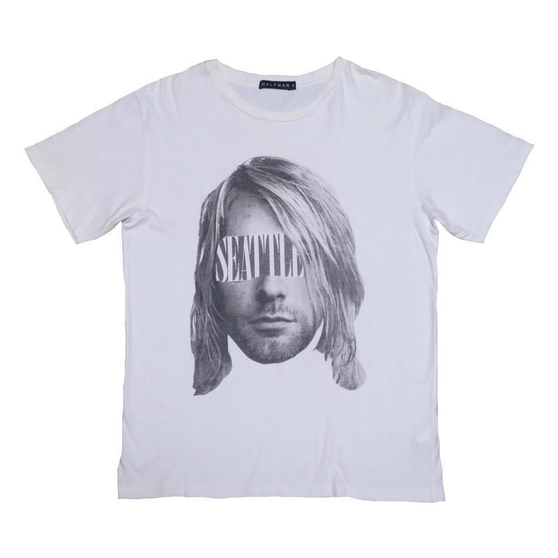 HALFMAN(ハーフマン) カートコバーンTシャツ
