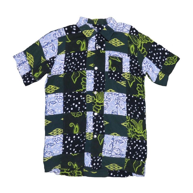 GAIJIN MADE(ガイジンメイド) パッチワーク半袖シャツ