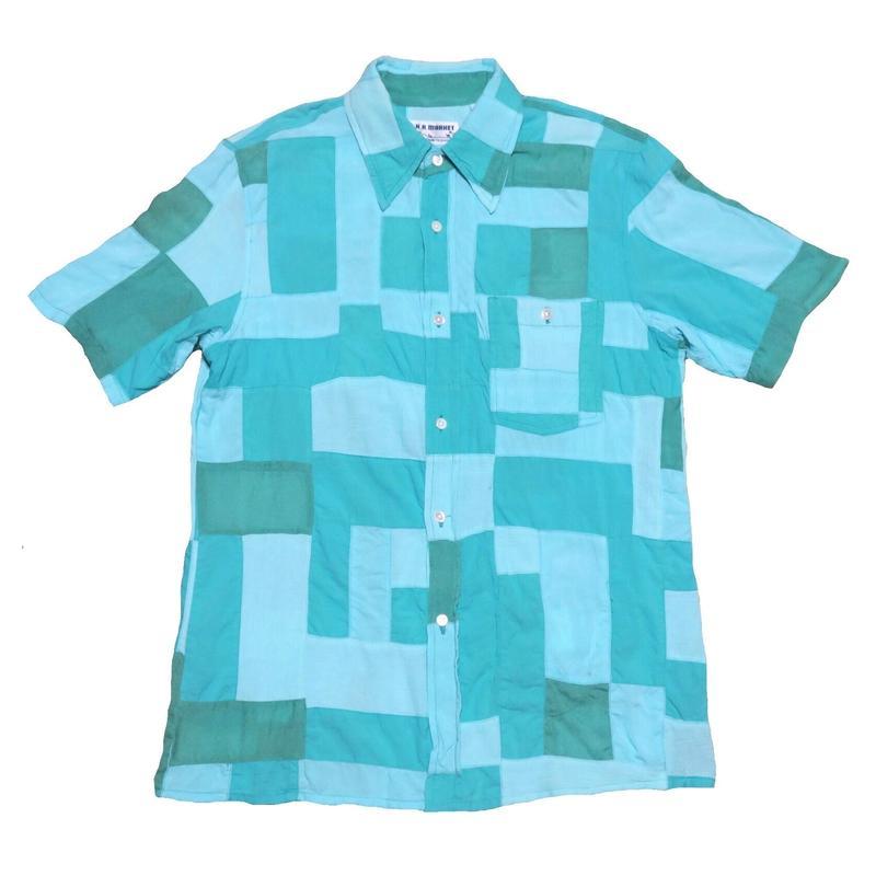 HOLLYWOOD RANCH MARKET(ハリウッドランチマーケット) パッチワークシャツ