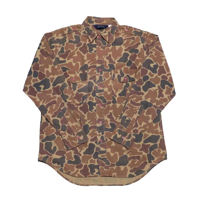 WOOLRICH(ウールリッチ) カモフラージュ柄シャツ
