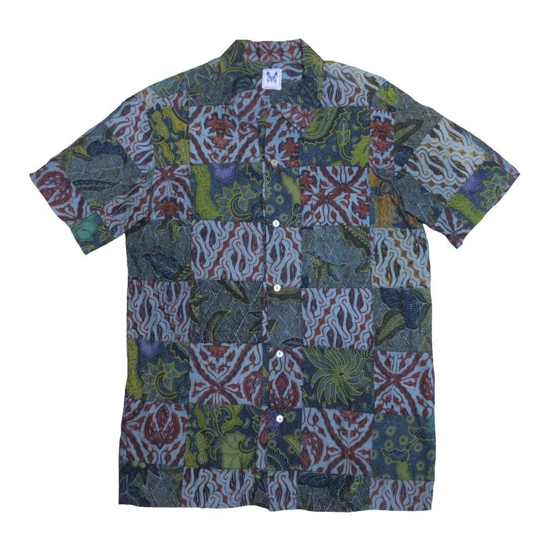 GAIJIN MADE(ガイジンメイド) パッチワーク半袖シャツ③