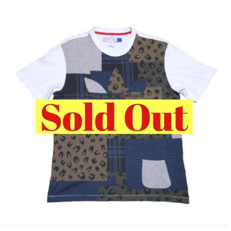 adidas(アディダス) 総柄Tシャツ