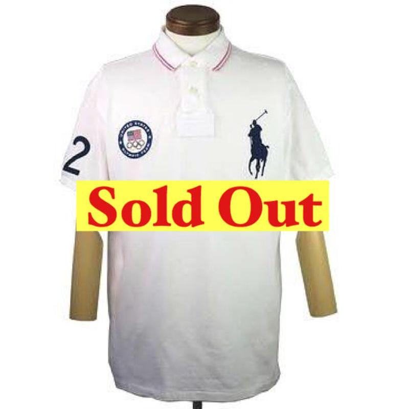 Polo Ralph Lauren(ポロ ラルフローレン) '12 ロンドンオリンピック USAチームポロシャツ