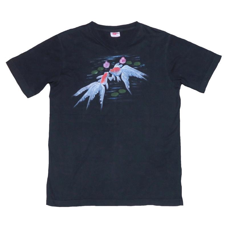 GAIJIN MADE(ガイジンメイド) 金魚Tシャツ