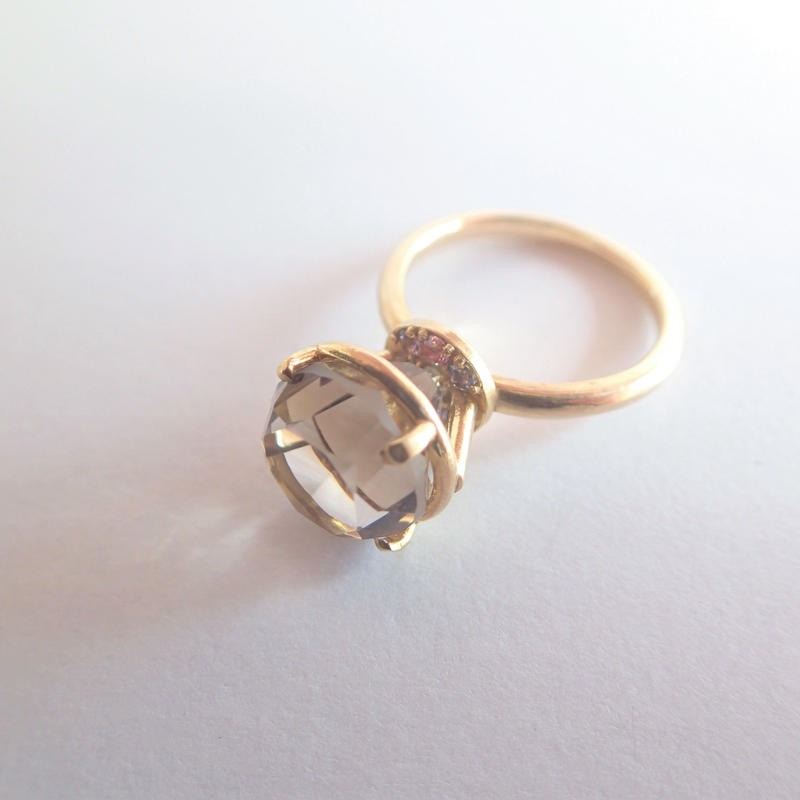 Jewel Ring (スモーキークォーツ)