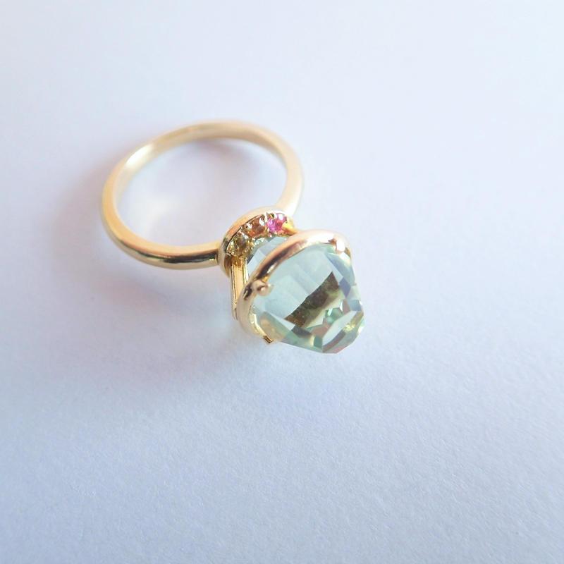 Princess Ring(グリーンクォーツ)