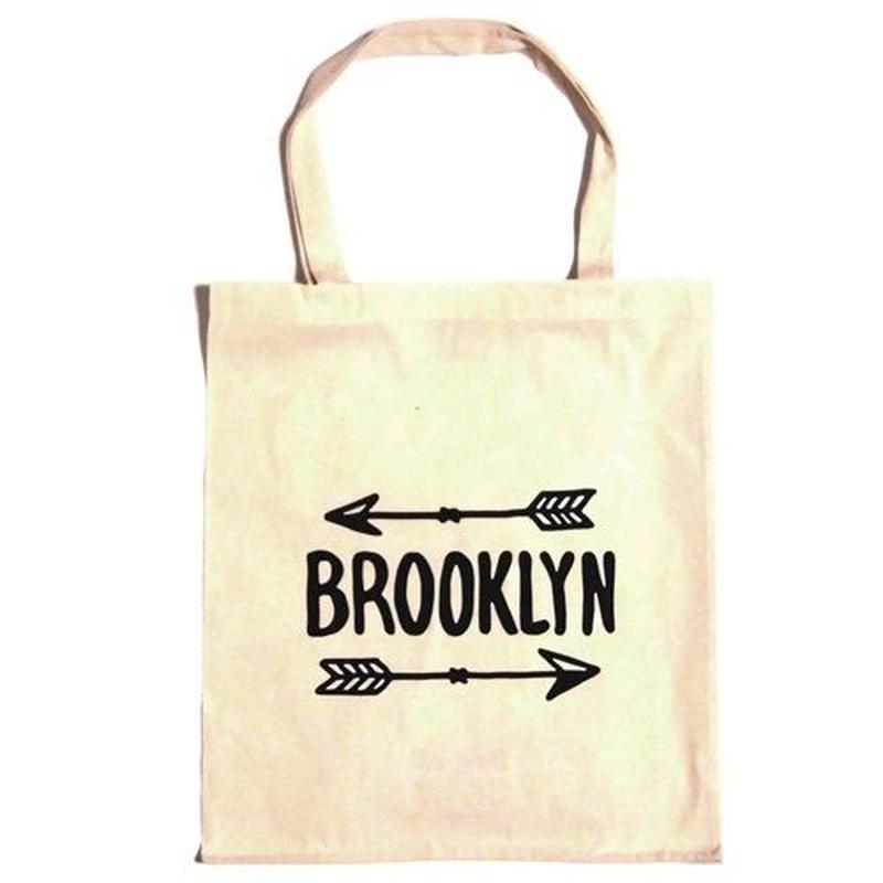 Bag all エコバッグ 折り畳み コンパクト ブルックリン トートバッグ サブバッグ 縦型 A4 BROOKLYN ARROW TOTE
