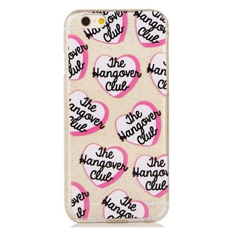 skinnydip スキニーディップ iPhone 6 6S Hangover Club ケース iphoneカバー ハード ハート 海外ブランド