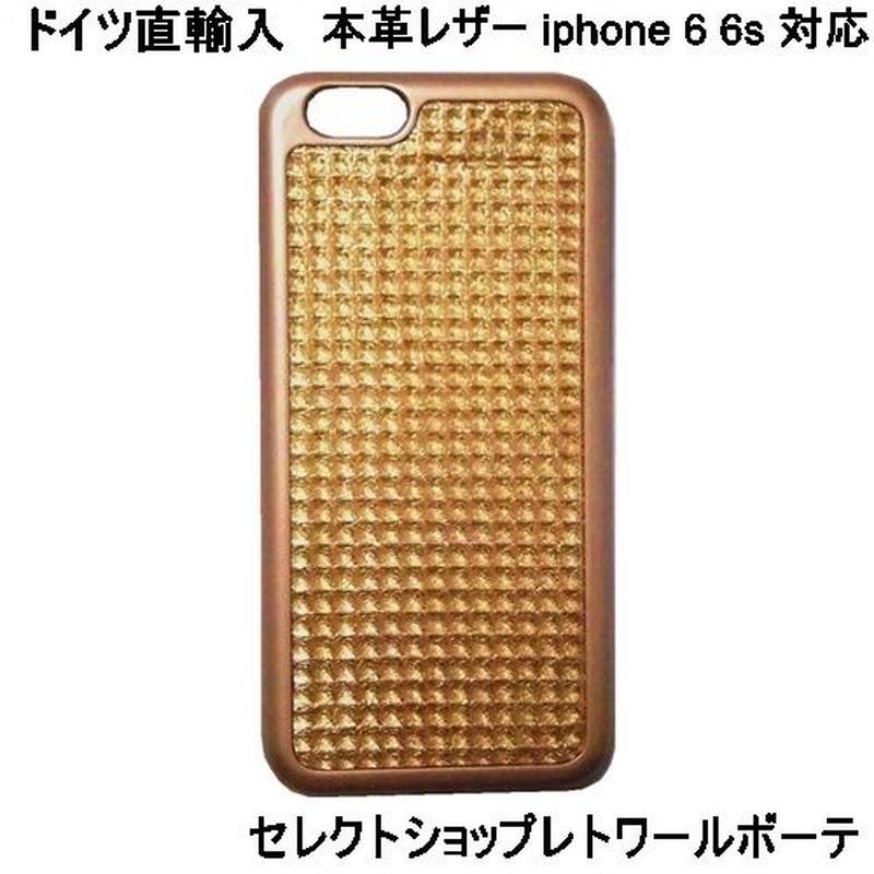 マッバ mabba 本革 レザー Mrs Waffly iPhone 6 6s Case gold iphone高質レザーカバー